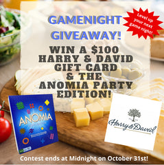 Anomia Press October Game Night Giveaway!