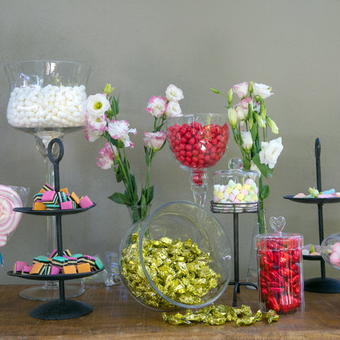 Dessert Table Glass Goblets