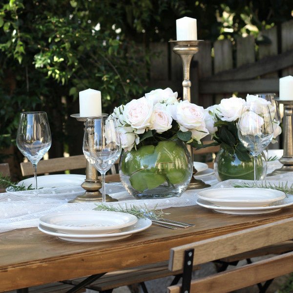 Table Setting - Runner White