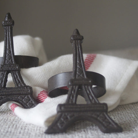 Table Setting Eiffel Tower Serviette Ring