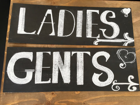 Wedding Props - Assorted Signs