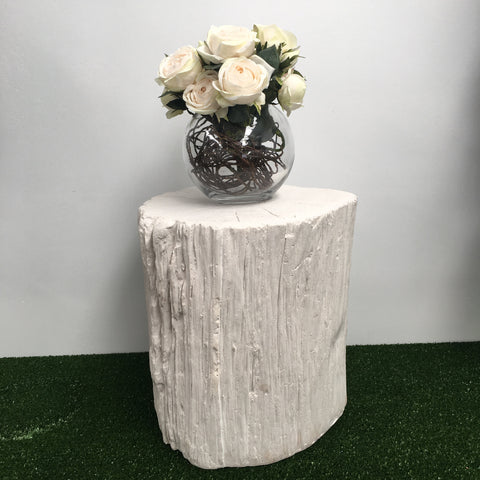 Wedding Prop White Tree Trunk