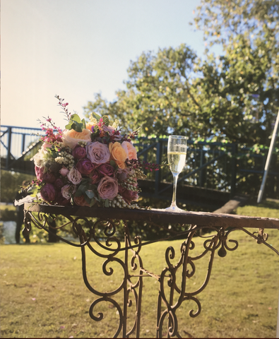 Ceremony Table & Chairs Garden Set