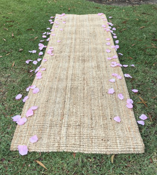 Ceremony Backdrops - Aisle runner