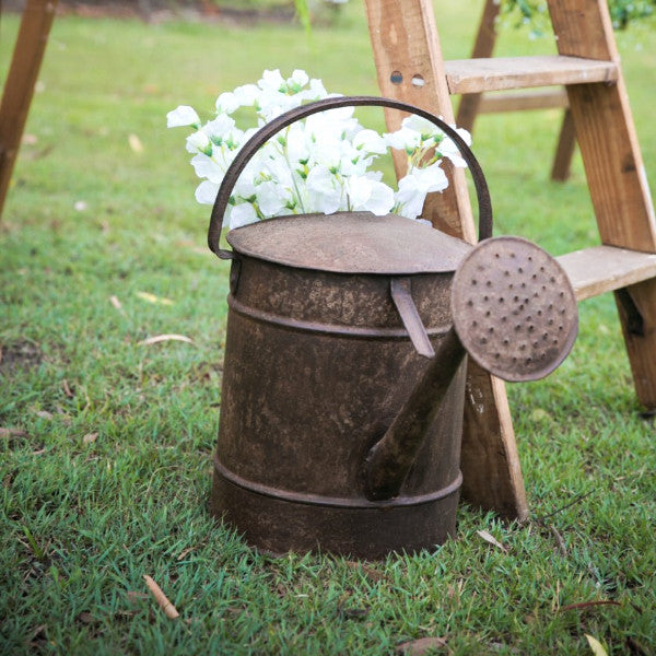 Wedding Prop Rusted Watering Can