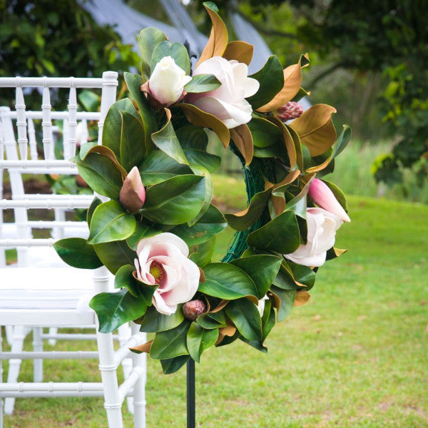 Flower Magnolia Wreath