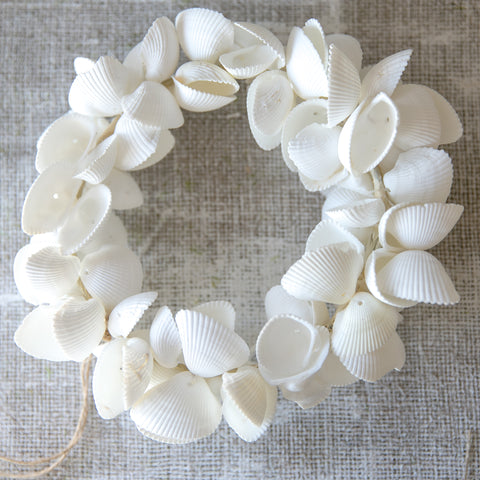 Wedding Prop Shell Wreath