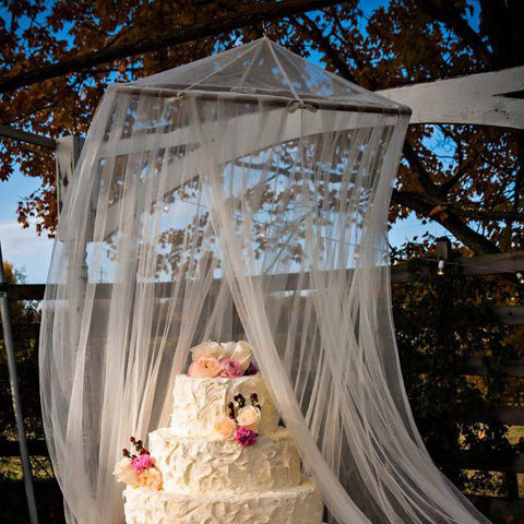 Wedding Prop Net Tent
