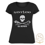 Load image into Gallery viewer, Santiano Women's T-Shirt 'Santiano- Sea Sheperd'
