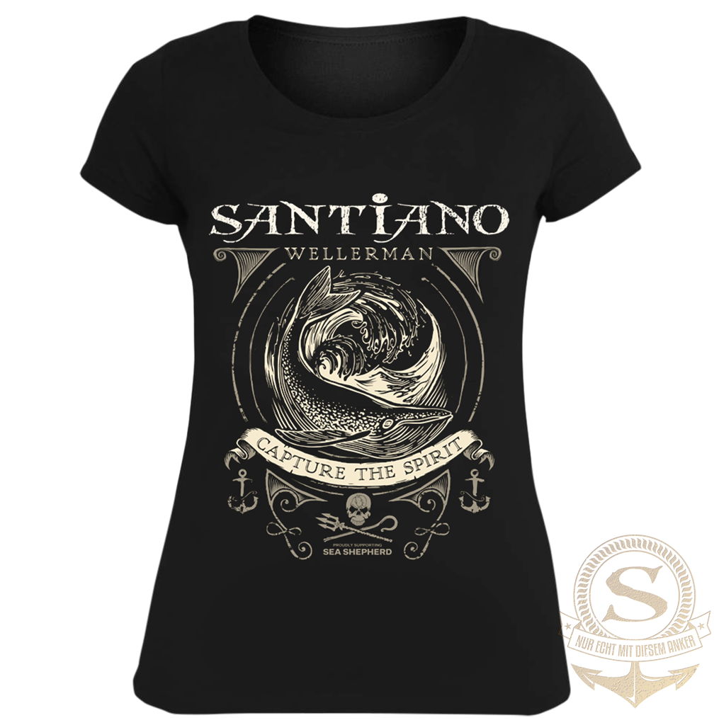 Santiano Damen T-Shirt 'Wellerman'