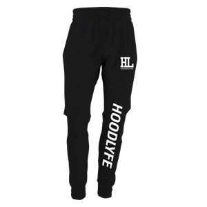 Hoodlyfe Lil Guy Joggers White