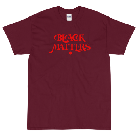 Black Matters Tee-Red