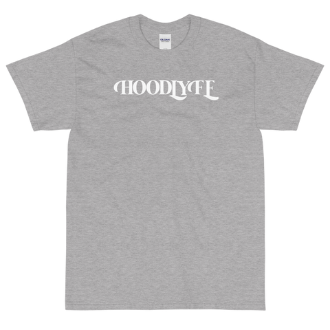 Hoodlyfe Wordmark Tee-White