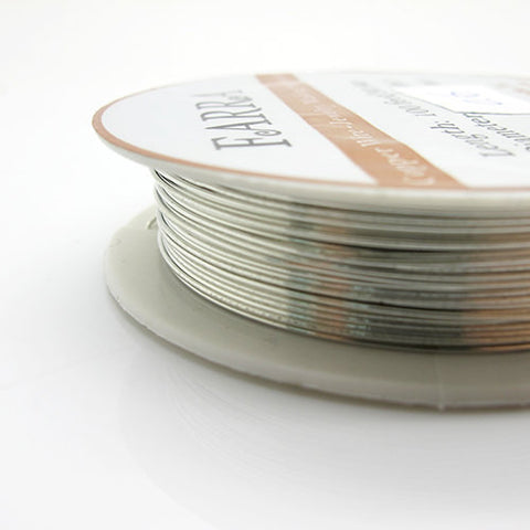 Silver wire diameter 06mm 22 gauge jewelry making wire 50 inch silver wire diameter 06mm 22 gauge jewelry making wire 50 inch keyboard keysfo Image collections