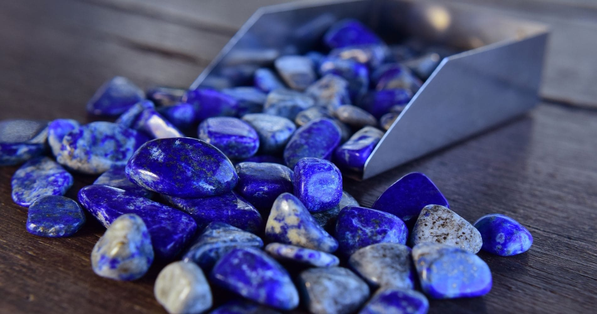 Lapis lazuli is a rock, which means it is a mineral aggregate