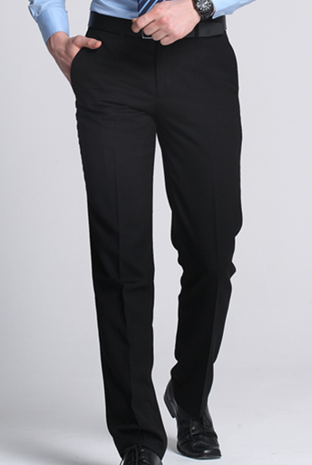 SavileRow Slim black trouser