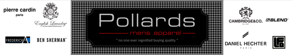Pollards Mens Apparel