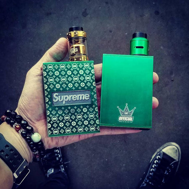 BMI - TOUCH - EMERALD GREEN - SUPREME EDITION - BMI BOX MOD - VAPE MOD