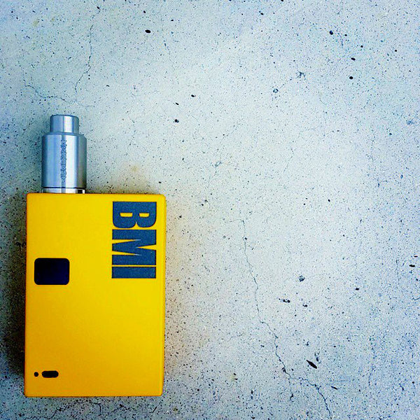 BMI - BMI V1R4 - Distressed Yellow - BMI BOX MOD - VAPE MOD