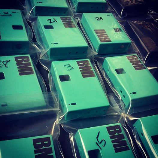 BMI - BMI V1R4 - Tiffany Blue - BMI BOX MOD - VAPE MOD