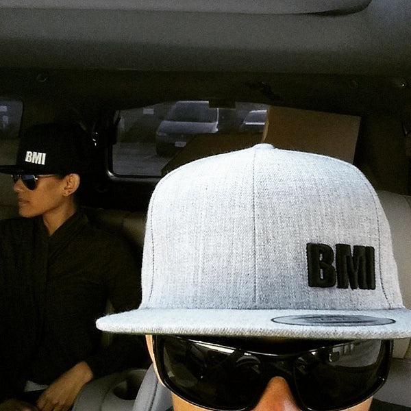 BMI Snap Back - Heather Grey