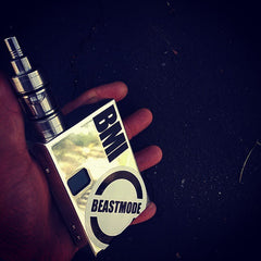 BMI - BMI V1R4 - Polished Aluminum (chrome) - BMI BOX MOD - VAPE MOD