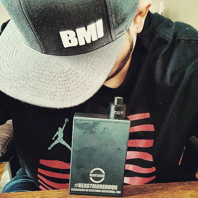 BMI - BMI Snap Back - Charcoal Grey - BMI BOX MOD - VAPE MOD