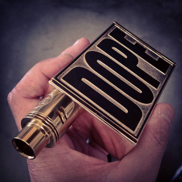 BMI - DOPE - 24K Gold Plated - BMI BOX MOD - VAPE MOD