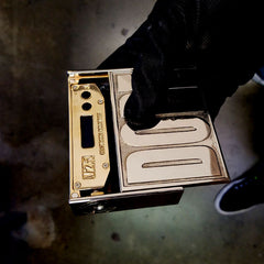 BMI - 2 DOPE - 10K Gold Plated Box w//24K Inlay