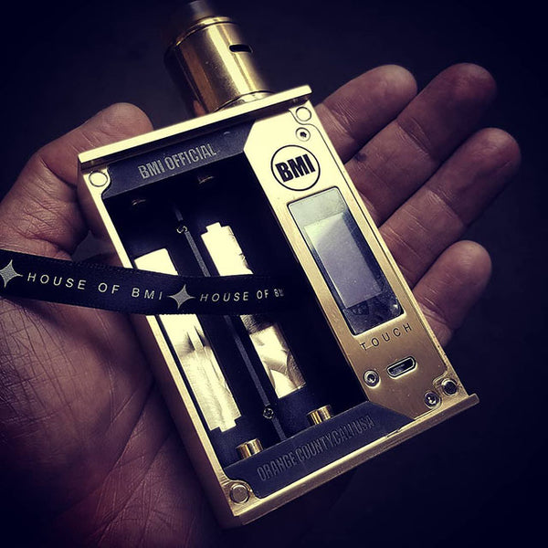 BMI - TOUCH - BRASS - SUPREME EDITION - BMI BOX MOD - VAPE MOD