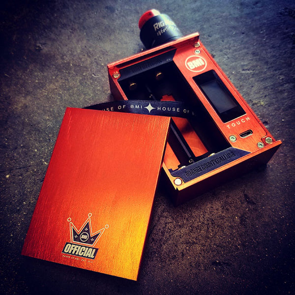 TOUCH - ELECTRIC ORANGE - CROWN EDITION