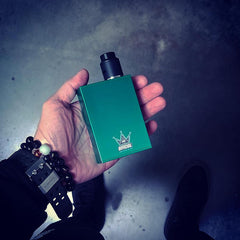 BMI - TOUCH - EMERALD GREEN - CROWN EDITION - BMI BOX MOD - VAPE MOD