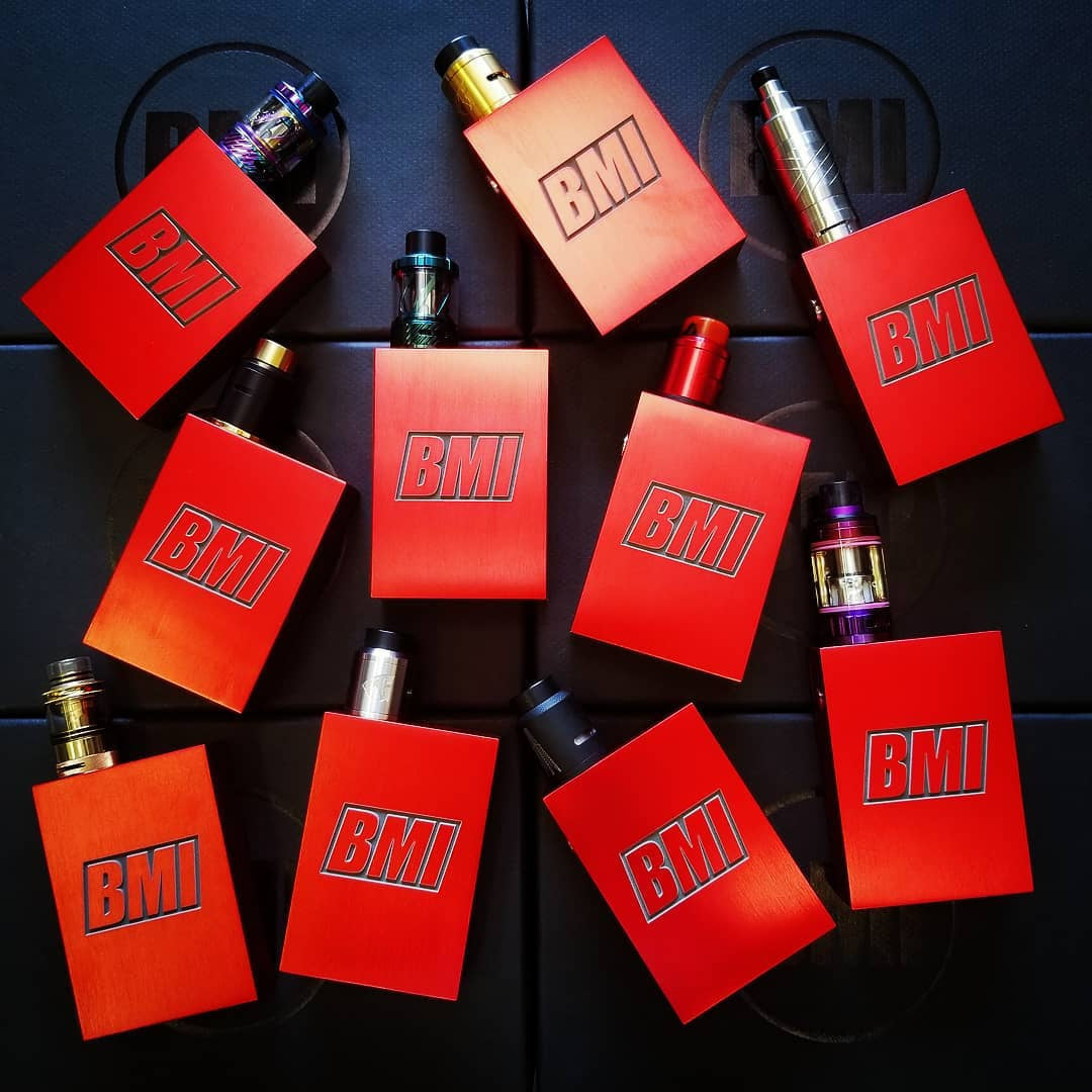 BMI - TOUCH - LZR RED - SUPREME EDITION - BMI BOX MOD - VAPE MOD