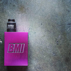 BMI - TOUCH - PURPLE FRESH - BIG BALLER - BMI BOX MOD - VAPE MOD