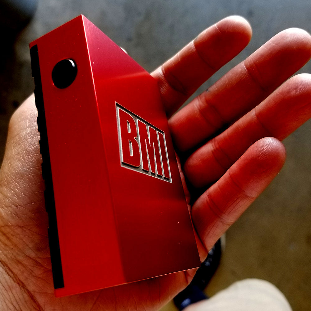 BMI - TOUCH - LZR RED W/BLACK DOOR - COBRA KAI - BMI BOX MOD - VAPE MOD
