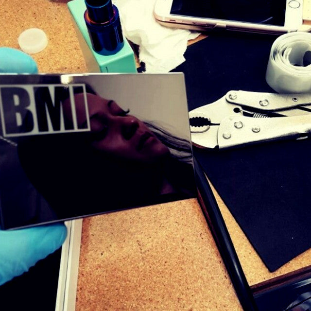 BMI - BMI V2R1 STEALTH - BLACK CHROME - BMI BOX MOD - VAPE MOD