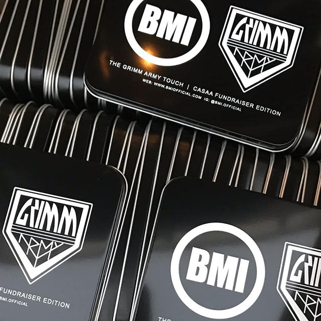 BMI - TOUCH - GRIMM ARMY TOUCH | CASAA FUNDRAISER EDITION - BMI BOX MOD - VAPE MOD