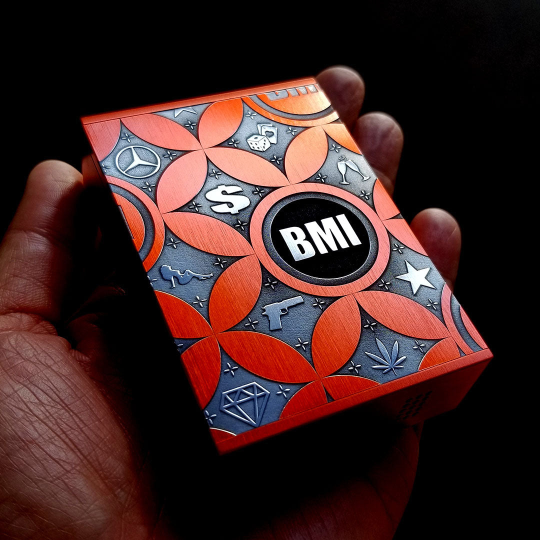 BMI - TOUCH - ELECTRIC ORANGE - BIG BALLER - BMI BOX MOD - VAPE MOD