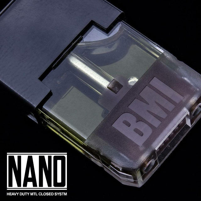 BMI - NANO POD (4 PACK) - TOBACCO - BMI BOX MOD - VAPE MOD
