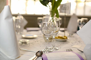 wedding venue dining in Offaly