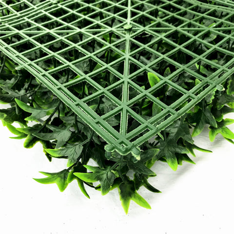 artificial ivy green living wall panel