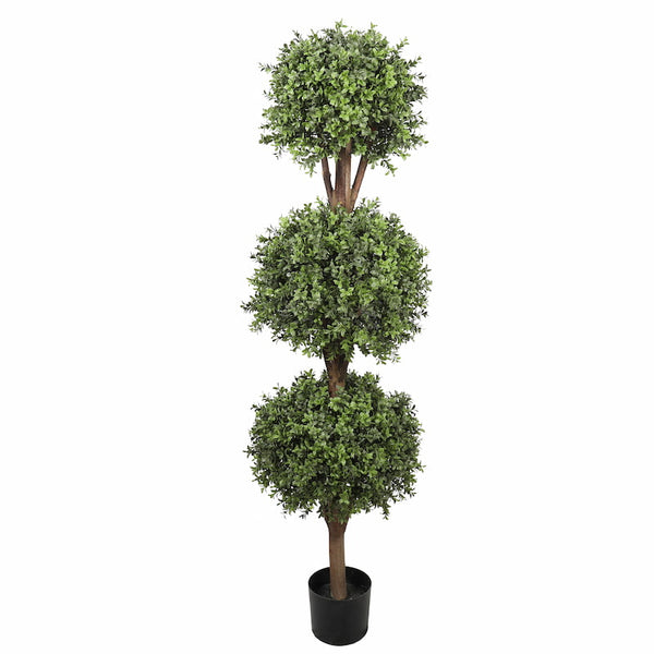 artificial triple ball topiary