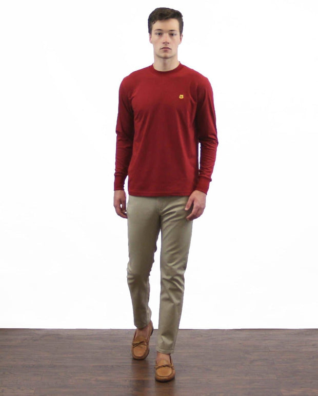 Slim Fit Long Sleeves