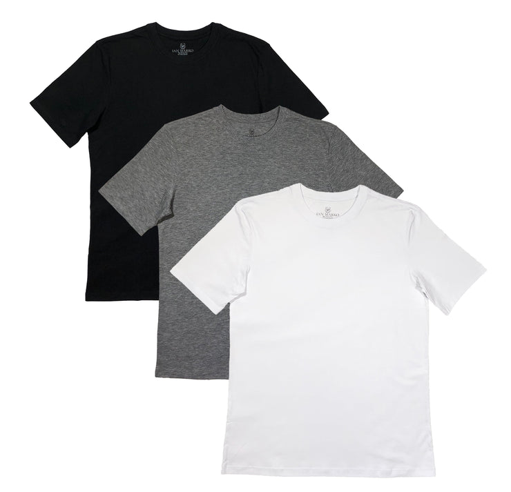 Multi-Color Premium Pima Tees (3 x Bundle)