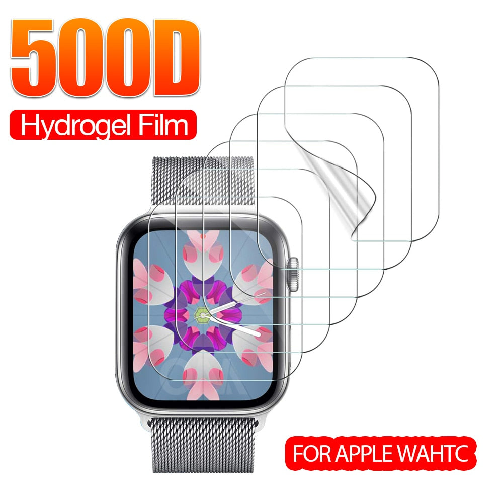 Apple Watch Hydrogel Protective Film