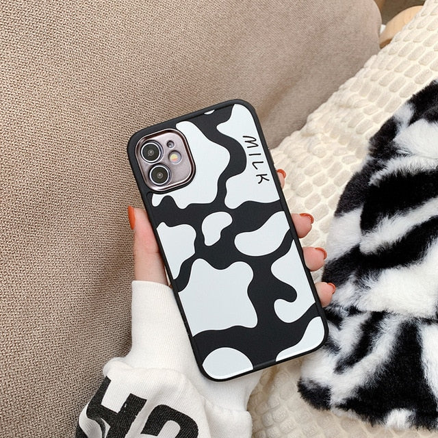 Cow and Cheetah iPhone Case