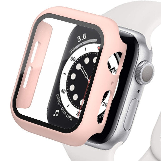 Apple Watch Case with Tempered Glass