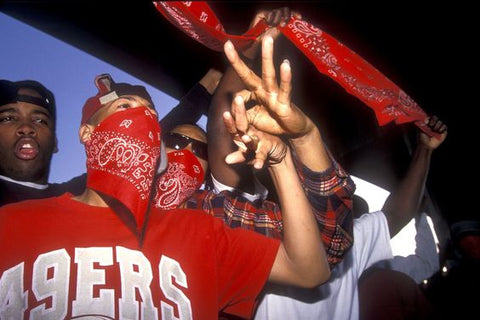 the bloods rote bandana