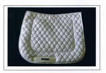 Dressage Saddle Blanket - Standard, Piped
