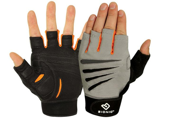 Cross-Fit Mens Half Finger - 2 Pack